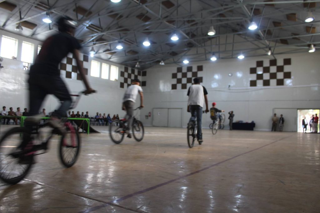 Drop and Ride bmx training in Kabul, Afghanistan